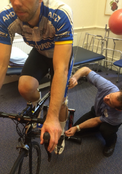 Wattbike cycling, Hallamshire Physio Clinic